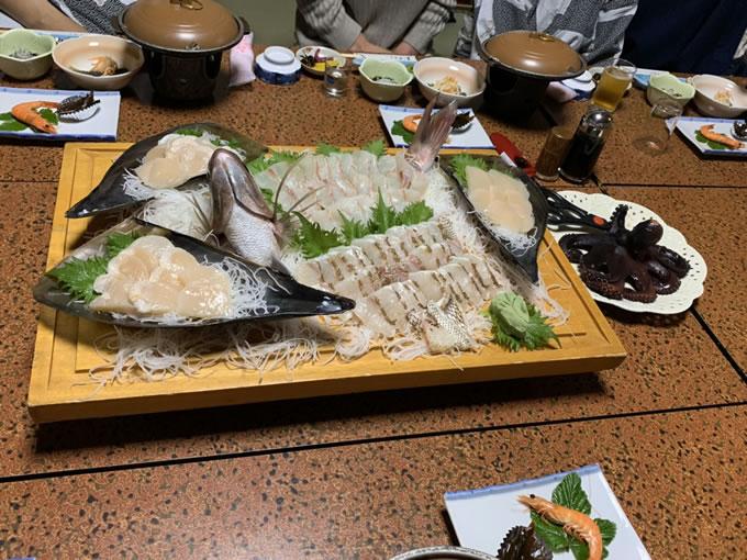 魚の活き作り